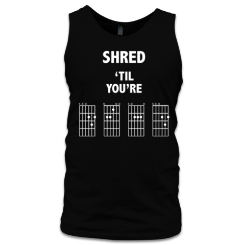 Shred 'Til You're Dead - Dark Colours - In-Tune Accessories